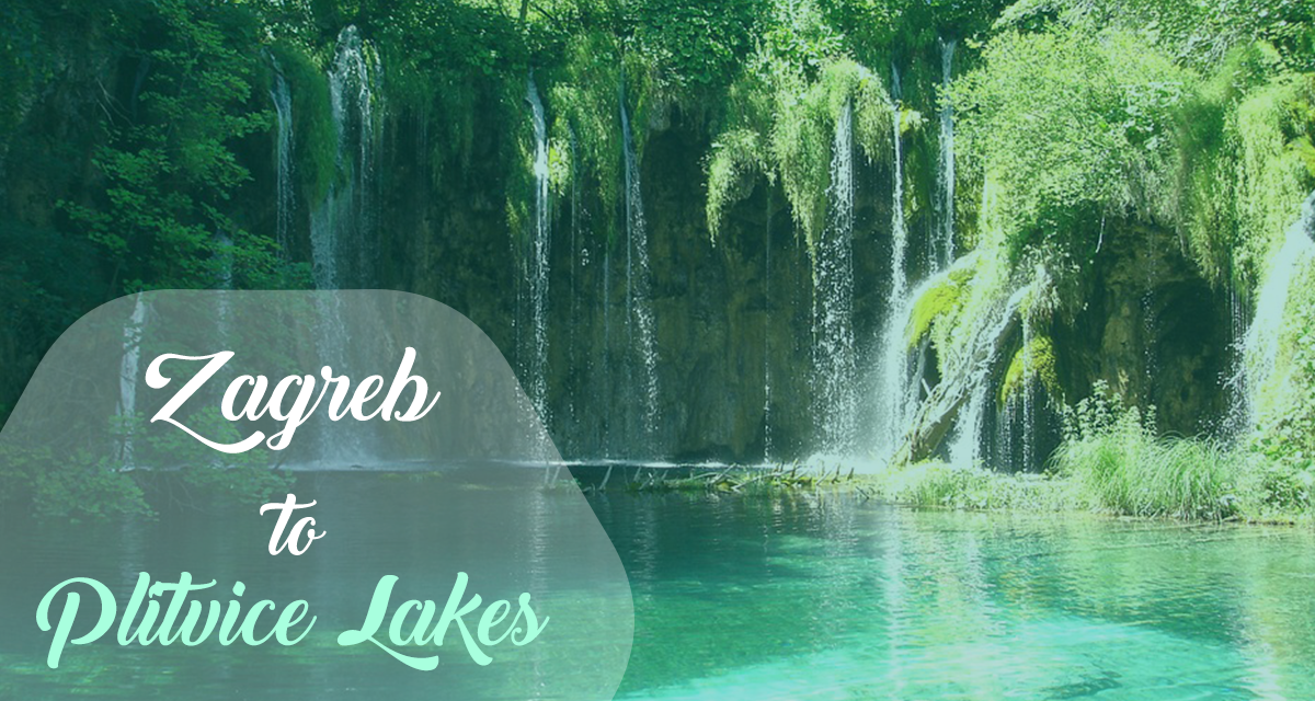 Bus from Zagreb to Plitvice Lakes