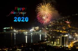 Doček Nove 2020 godine na crnogorskim trgovima - Budva