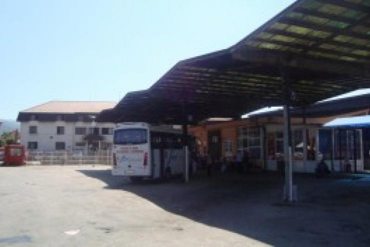Bus station Berane
