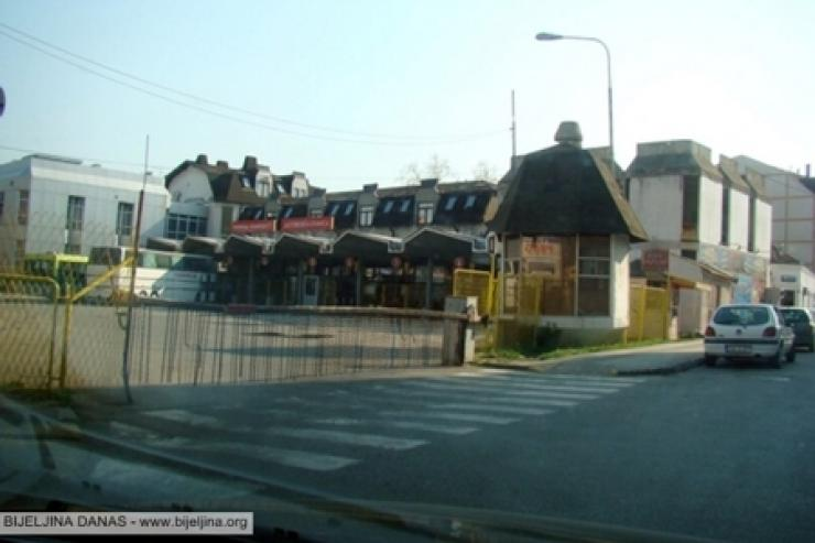 der Busbahnhof Bijeljina