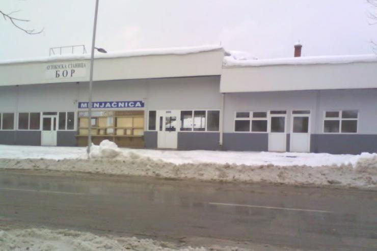 Bus station Bor