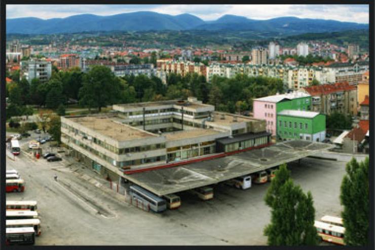 Bus station Cacak