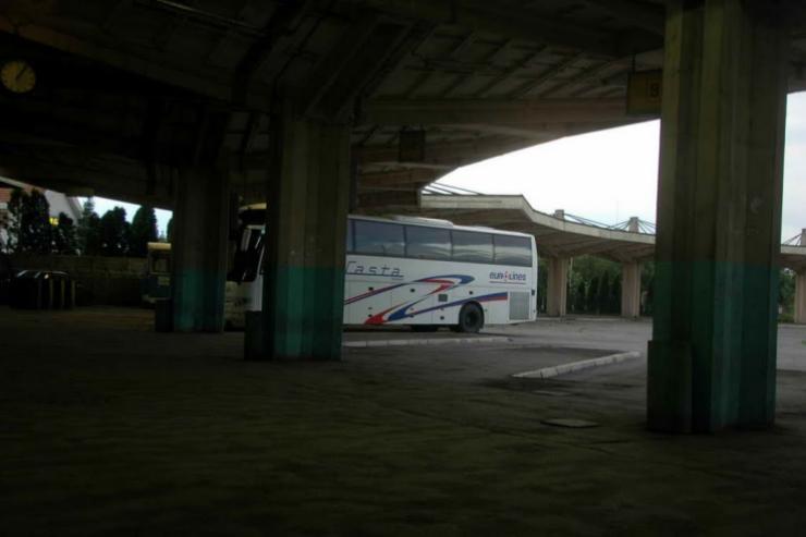 Bus station Cuprija