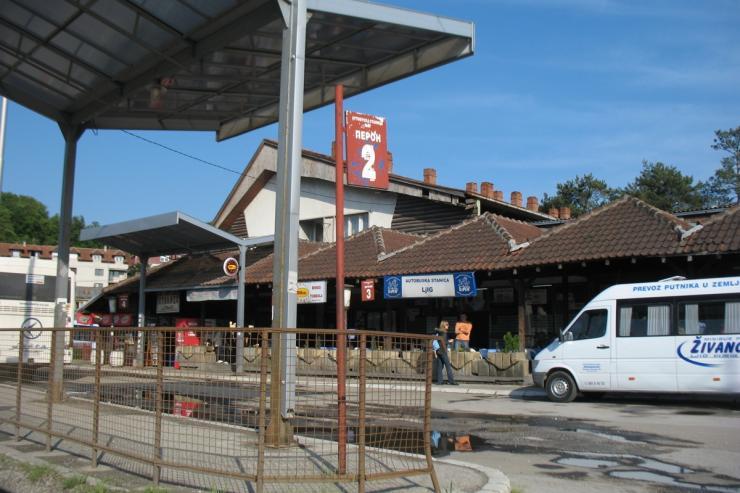 Autobuska stanica Ljig
