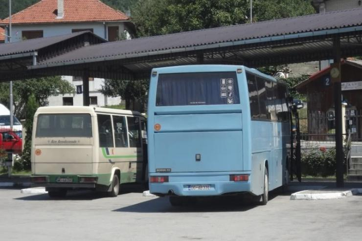 Stazione degli autobus Mojkovac