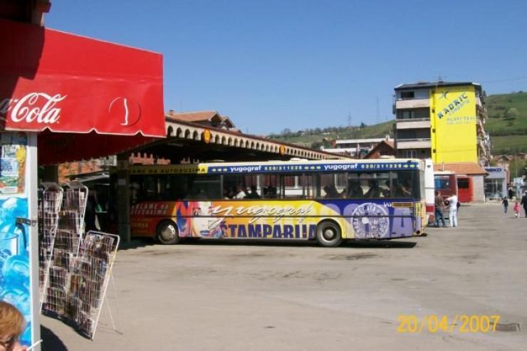 Autobuska stanica Novi-Pazar