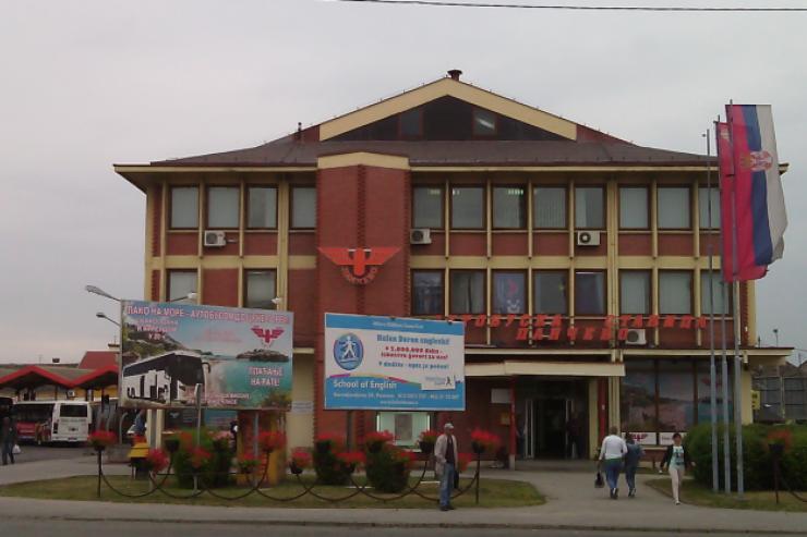 Autobuska stanica Pancevo