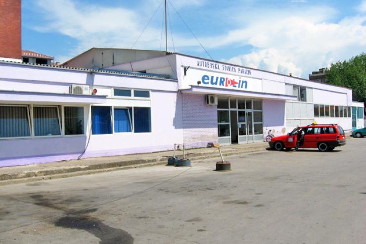 Autobuska stanica Paracin