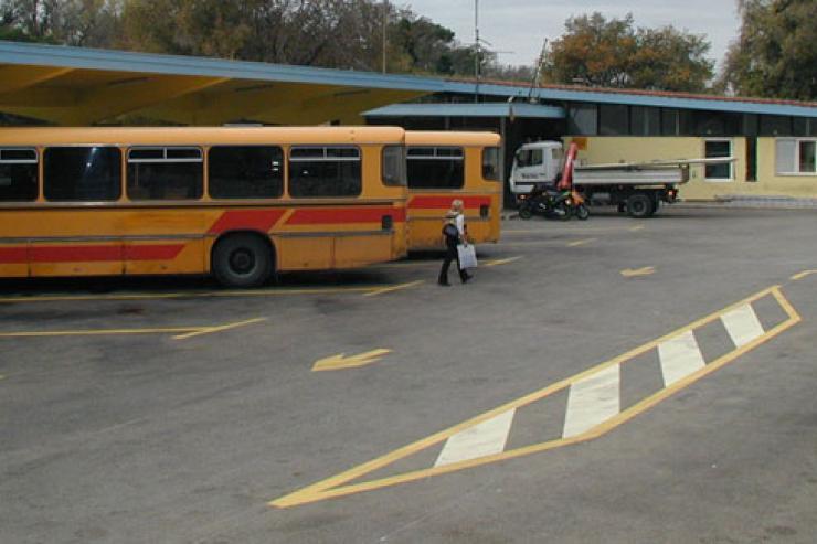 Autobuska stanica Trogir
