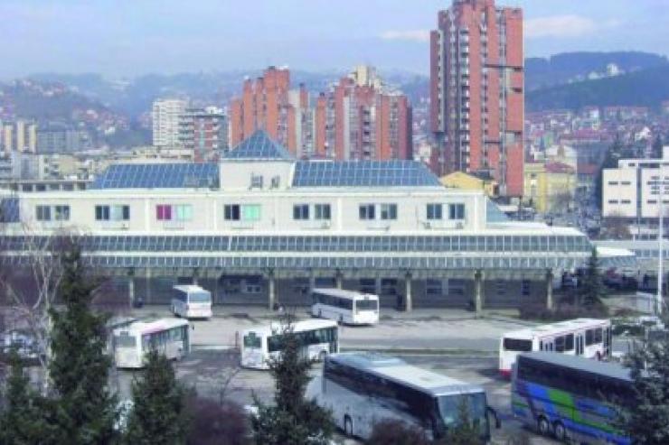 Bus station Uzice