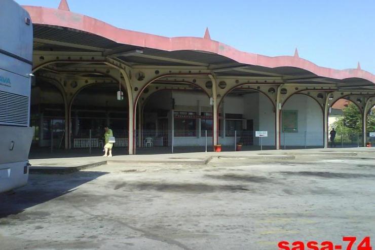 Bus station Vrnjacka-Banja